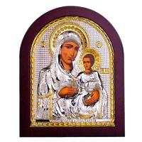 Иерусалимская икона Божьей Матери 19х16 см