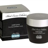 Лечебная маска для волос с экстрактом чёрной икры