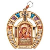 Оберег для дома подкова с иконой Вифлеемской Божьей Матери