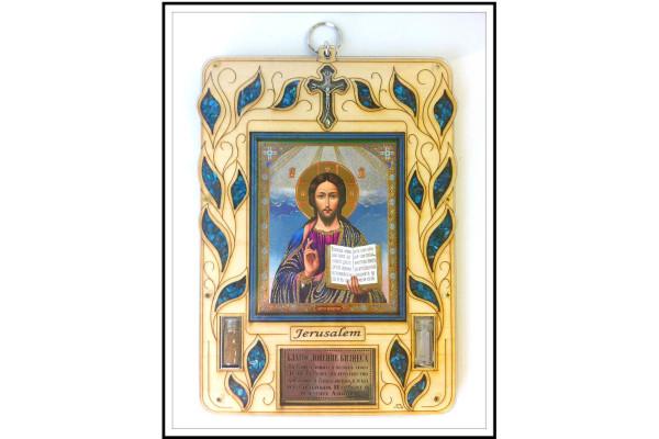 Благословение для бизнеса с иконой Иисуса Вседержителя