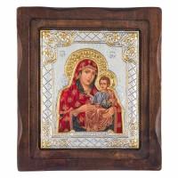 Икона Чудотворной Иерусалимской Божией Матери Шелкография