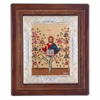 Икона Древо Жизни-Иисус Христос и 12 Апостолов
