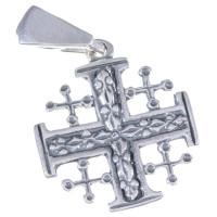 Подвеска Иерусалимский Крест Серебро