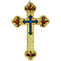 Крест деревянный настенный 28 см