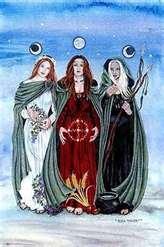 trinidad virgen bruja y madre