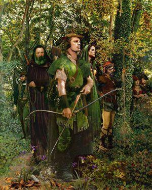 Robin Hood de los bosques