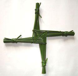 Imbolc. Cruz de Santa Brígida