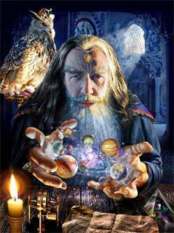 Merlin gran mago leyenda