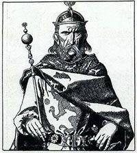 Rey Uther de Pendragon