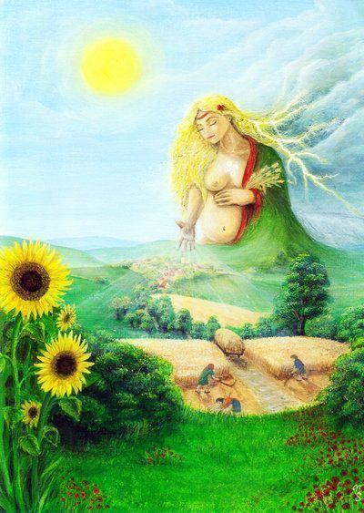 celtic goddess Tailitu
