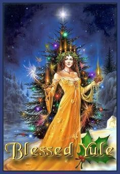 Yule postal de Navidad