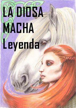 leyenda de MACHA diosa irlandesa y Crunnchu