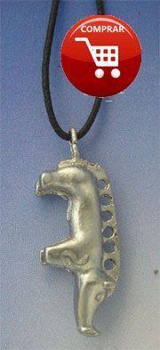 boar silver pendant celtic