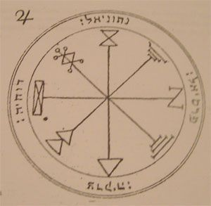 first pentacle of Jupiter seals of Salomon