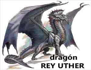 Dragón rojo galés del rey Uther