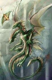 dragón bicéfalo dos cabezas