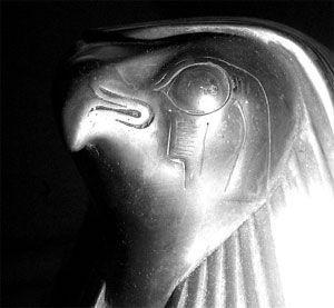 horus cabeza halcón