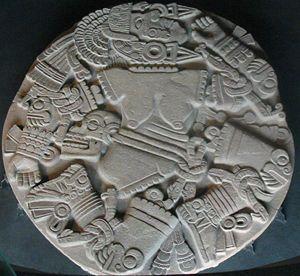 escultura de Coyolxauhqui