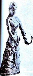 diosa serpientes cultura minoica