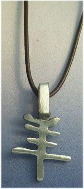 colgante horóscopo chino cabra de plata
