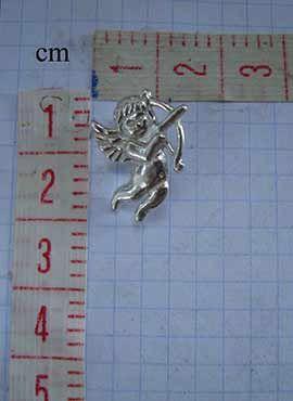 angel cupido Eros en cms. medicion
