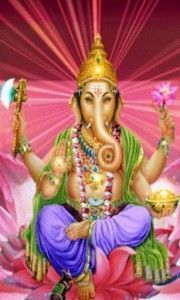 Ganesha dios hindu elefante