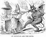 san Durstan y el diablo