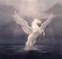 Pegaso, el caballo alado mítico griego