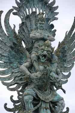 Visnu y Garuda