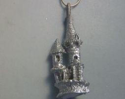 colgante Camelot castillo de plata de ley