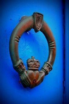 claddagh irlandés símbolo de amor