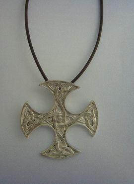 colgante cruz celta escocesa Clackmannan