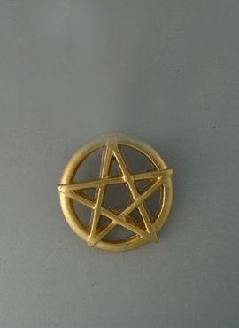 pentagramme sacré Pendentif en or