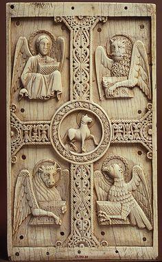 lso 4 evangelistas simbolizados por animales diversos