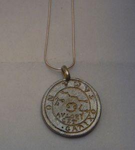 pantáculo Paracelso cáncer talismán astrológico de plata