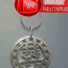 colgante amuleto chino felicidad doble xing fu