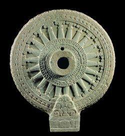 rueda del dharma. Símbolo budista