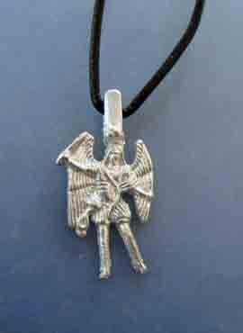 san Miguel arcangel de plata