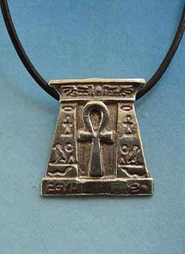 colgante egipcio puerta de la vida anj