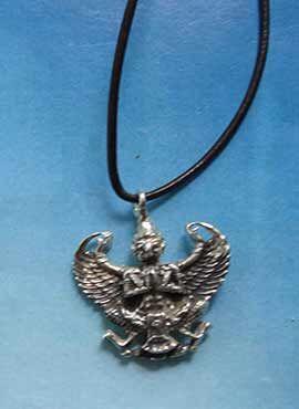 colgante dios Garuda hombre águila plata