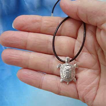 amuleto tortuga de plata de ley