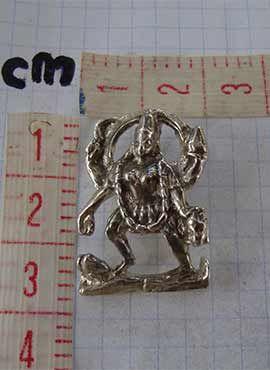 kali diosa hindu medidas colgante