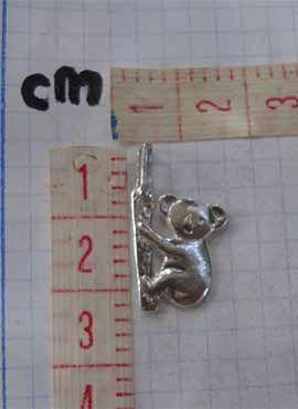 colgante koala dimensiones cms