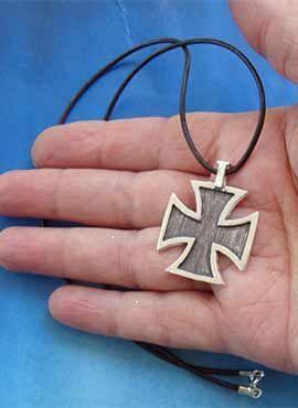 cruz cel temple amuleto templario