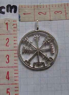 vegvisir vikingo símbolo dimensiones