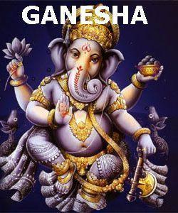 Ganesha deidad elefante hinduista