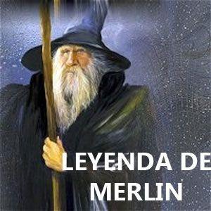 Leyendas celtas mago Merlín