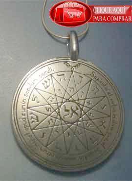 Talismán Mercurio cuarto pantáculo de los sellos de Salomón