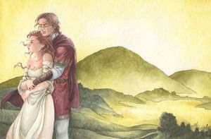 Rhiannon y Pwill perdidamente cayeron enamorados