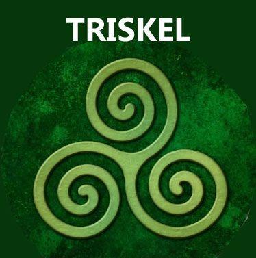 símbolos celtas: trisquel significado